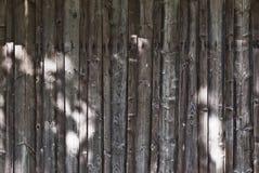 Стена планки Стоковое фото RF