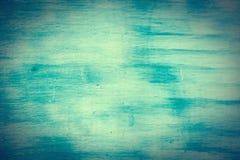 Стена покрашенная в голубом и белом Стоковые Изображения