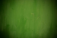 Стена покрашенная зеленым цветом Стоковое Изображение RF