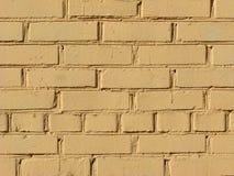 стена покрашенная кирпичом Стоковые Фотографии RF