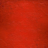 стена покрашенная лоском красная Стоковая Фотография