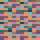 Стена покрашенных кирпичей Стоковое фото RF