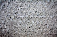 Стена покрытая миномета Стоковое Изображение RF