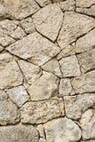 Стена посмотрена с камнем Стоковые Изображения RF