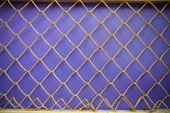Стена предпосылки металла сетчатая абстрактная Стоковые Изображения RF