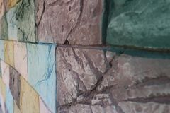 стена предпосылки цветастая стоковое изображение