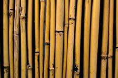 Стена предпосылки бамбуковых ручек Стоковые Изображения RF