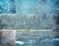 Стена предпосылки каменных блоков Стоковая Фотография RF