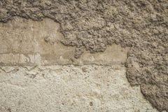 стена предпосылки старая Конкретная стена гипсолита Стоковая Фотография RF