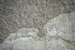 стена предпосылки старая Конкретная стена гипсолита Стоковые Фотографии RF