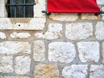 стена предпосылки текстурированная кирпичом Стоковая Фотография RF