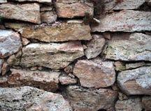 Стена Предпосылк-камня Стоковая Фотография RF