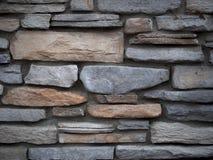 Стена Предпосылк-камня Стоковое Изображение