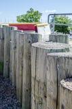 Стена пристани Стоковая Фотография