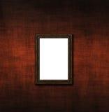 стена пустой рамки старая Стоковые Изображения RF