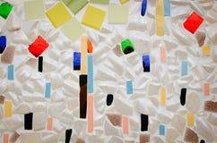 стена плитки искусства сделанная от великолепной плитки Стоковое Изображение RF