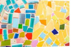 стена плитки искусства сделанная от великолепной плитки Стоковое фото RF