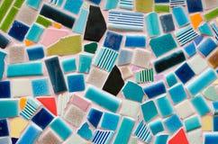 стена плитки искусства сделанная от великолепной плитки Стоковые Изображения RF