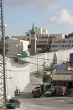 стена разъединения Иерусалима Стоковое Изображение RF