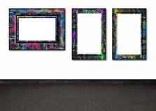 стена рамок Стоковые Фотографии RF