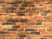 Стена древнего храма Ayutthaya стоковые фото