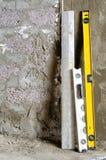 Стена реновации Стоковая Фотография RF
