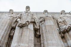 стена реформирования geneva Стоковые Изображения
