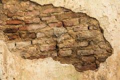 стена руин в тайском виске стоковые фото