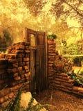 стена сада старая Стоковые Фото