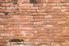 стена сбора винограда текстуры красного цвета кирпича Стоковая Фотография