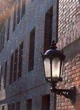 стена светильника старая Стоковое Изображение RF