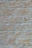 Стена светлых плиток текстуры, стилизованная по внешнему виду как кирпич Один из типов decoratio стены Стоковые Изображения
