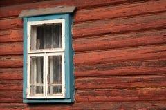 стена сельского дома Стоковые Фото