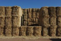 Стена сена Стоковая Фотография