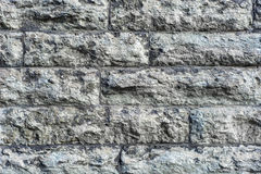 Стена серого камня Стоковые Изображения