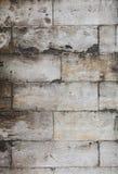 Стена серых кирпичей камня adarce травертина Стоковое Изображение
