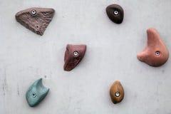 Стена скалолазания Стоковая Фотография RF