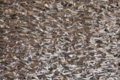 Стена скомканной фольги стоковое изображение rf
