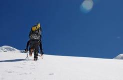Стена снежка Стоковая Фотография
