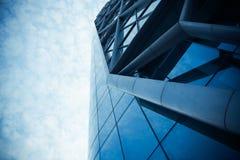 Стена современного здания стеклянная Стоковая Фотография RF