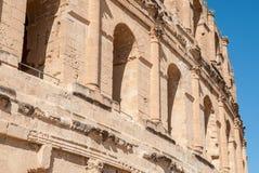 Стена старого античного замка Стоковое Изображение