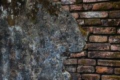 Стена старого виска Стоковое Изображение