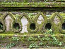 Стена старого виска Стоковые Изображения RF
