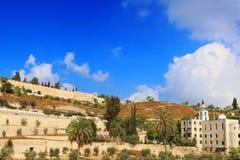 Стена старого города Иерусалима, Израиля Стоковое Изображение RF