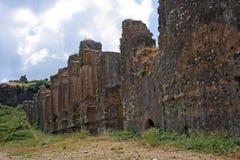 стена стародедовского города римская Стоковое Изображение