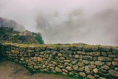 Стена старой безопасности каменная Стоковое фото RF