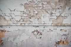 Стена старой краски пакостная. Стоковые Изображения