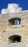 Стена старой крепости Стоковые Фото