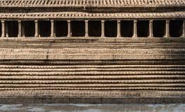 Стена старой пагоды Стоковые Фото