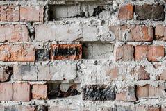 Стена старых кирпичей Стоковое Изображение